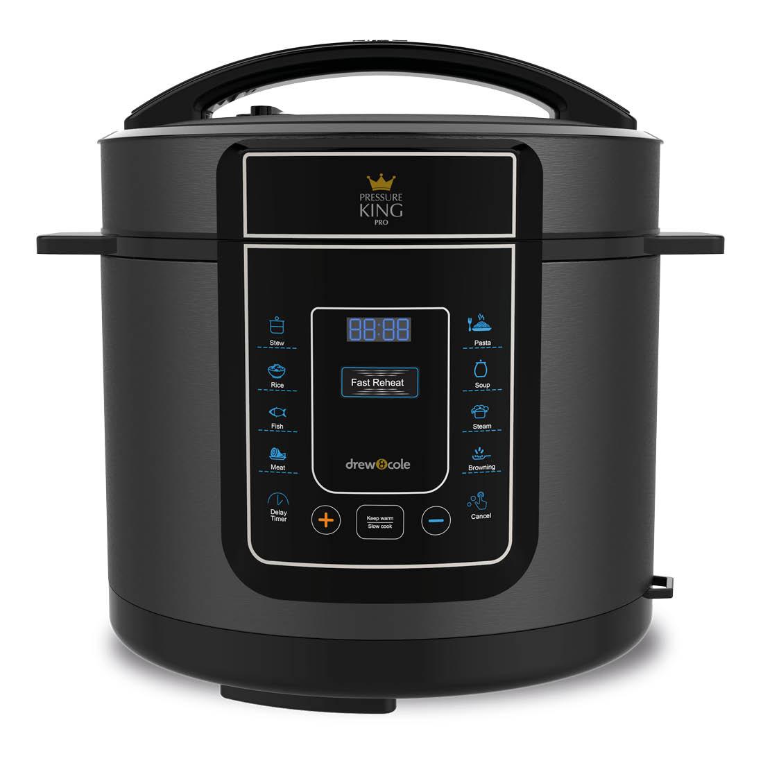 An image of Pressure King Pro 12-in-1 5L Digital Pressure Cooker – Black