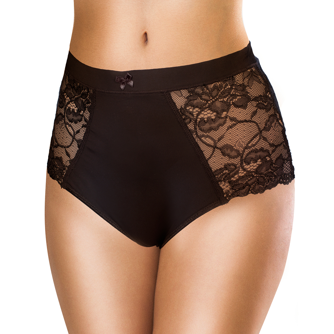 An image of Pretty Clever Pants 2pk (Black Lace)