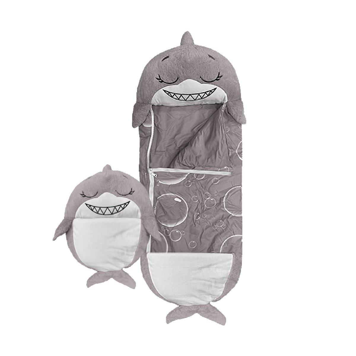 An image of Happy Nappers - Grey Shark