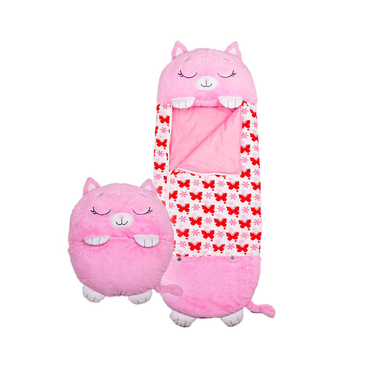 An image of Happy Nappers - Pink Kitty