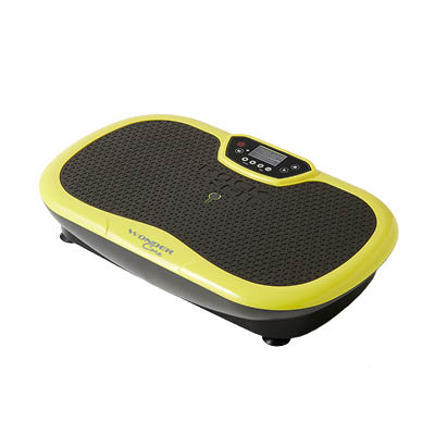 An image of Rock N Fit Vibration Plate Trainer & Exercise Seat (Lime Green)