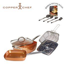 Copper Chef 10 Piece Non Stick 9 5 Deluxe Pan