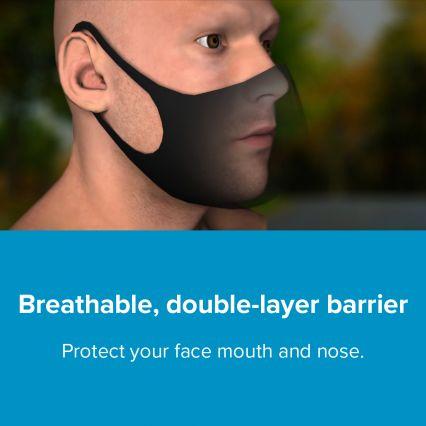 Breathe Pure CopperWear Reusable Face Masks (4 Pack)