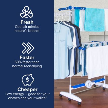 NuBreeze Cool Air Drying System