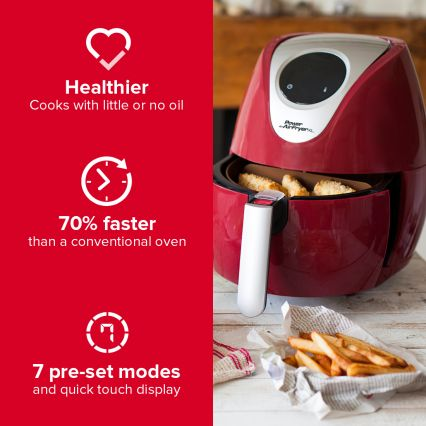 Power Air Fryer XL - 3.2 Litre Digital Air Fryer