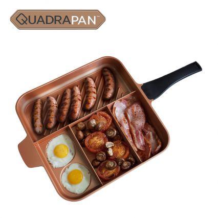 QuadraPan Essential – 4-in-1 Multi Cooking Pan