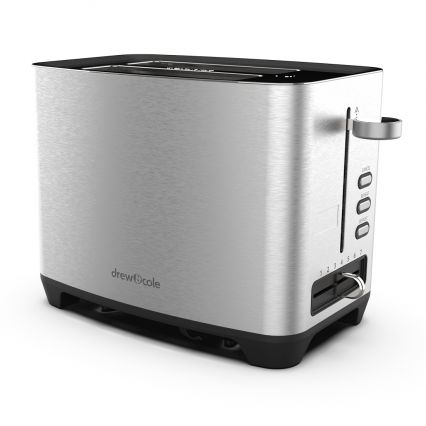 2 Slice Toaster by Drew&Cole (Chrome)