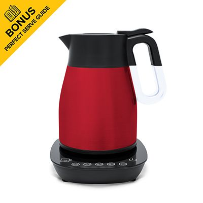 RediKettle Variable Temperature Thermal Kettle 1.2L (Red)