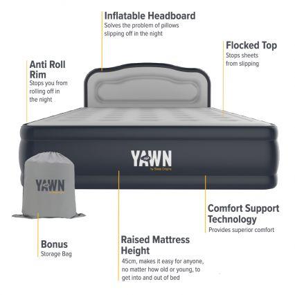 YAWN Air Bed by Sleep Origins