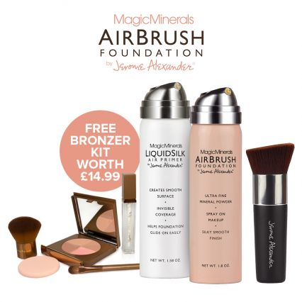 Magic Minerals AirBrush Foundation and Primer by Jerome Alexander