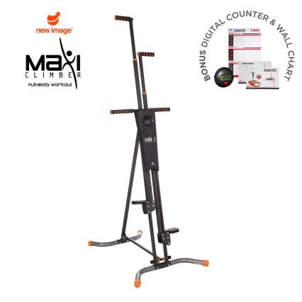 MaxiClimber Vertical Climbing Fitness System by New Image