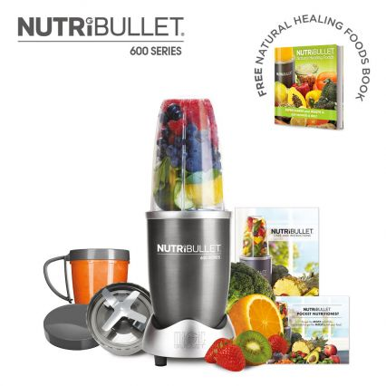 NutriBullet 600 Series 8 Piece Set