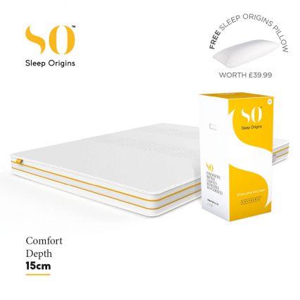 Sleep Origins 15cm Comfort Mattress