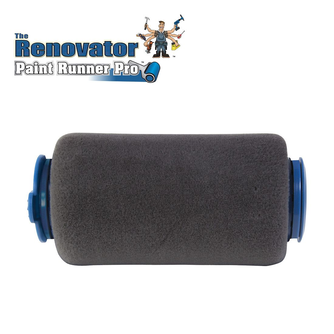 Paint Runner Pro Roller Sleeve Accessory by The Renovator