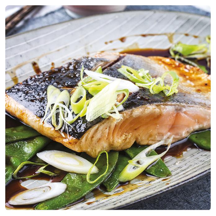 Steamed Salmon With Mushroom And Leeks Pressure King Pro