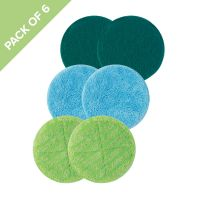 Floating Mop Pads - 6 Pack