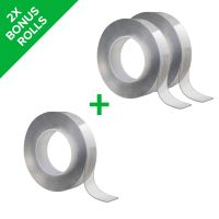 Food Alien Tape 3-pack – Reusable Double-Sided Tape