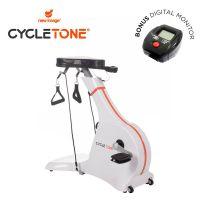 Cycle Tone Exercise Bike and Toning System + BONUS Digital Monitor