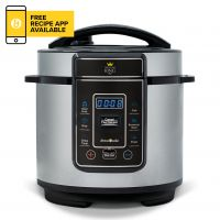 Pressure King Pro (3L) Chrome – 8-in-1 Digital Pressure Cooker