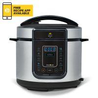 Pressure King Pro 12-in-1 5L Digital Pressure Cooker – Chrome