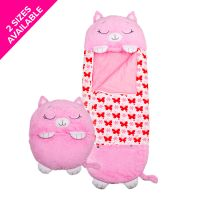 Happy Nappers - Pink Kitty - Medium