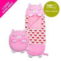 Happy Nappers - Pink Kitty - Medium