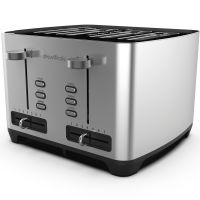 4 Slice Toaster by Drew&Cole (Chrome)