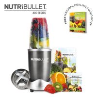 NutriBullet 600 Series 5 Piece Set - Graphite