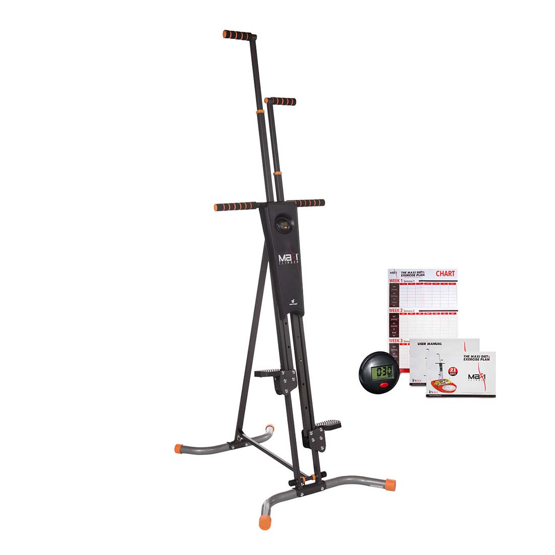 An image of MaxiClimber Vertical Climbing Fitness System by New Image