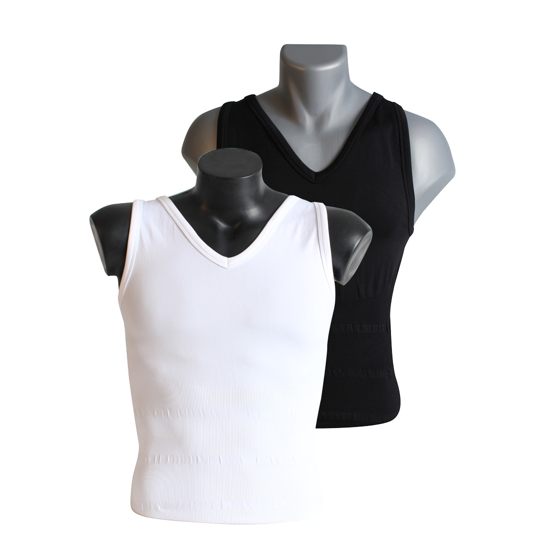 An image of Tone Tee White Vest XL