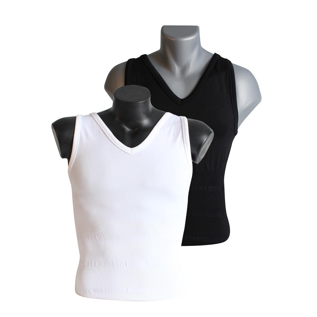 An image of Tone Tee White Vest XXL